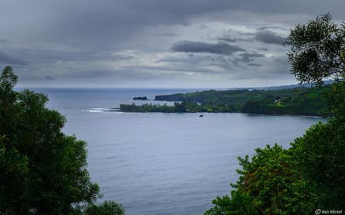 clouds coast hawaii kaumahinastatewayside kenmickelphotography landscape maui ocean outdoors roadtohana seascape sky photography haiku unitedstatesofamerica