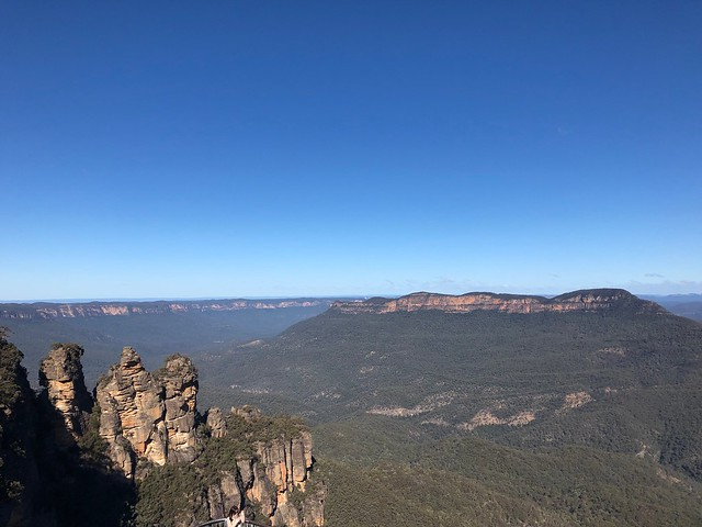 The Blue Mountains and the Three Sisters