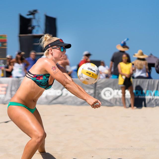 Morgan Martin  at AVP Hermosa Beach Open