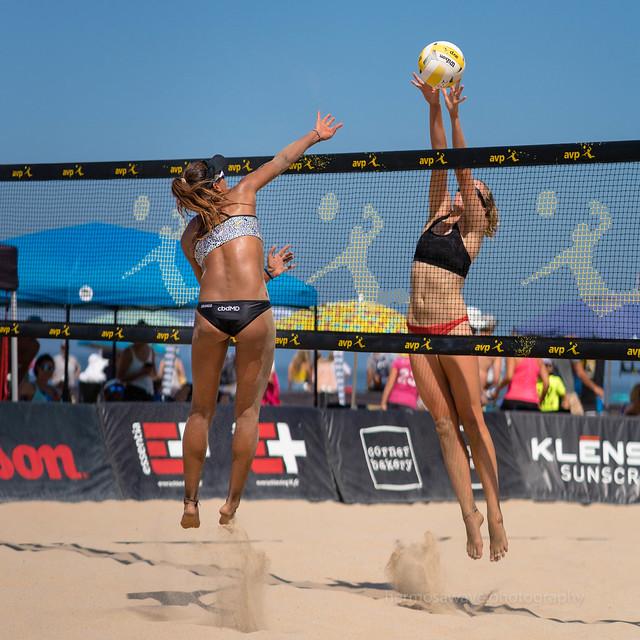 AVP Hermosa Beach Open: Geena Urango and Megan Kraft