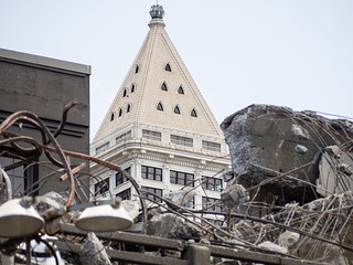 Demolition reveals a new view of Smith Tower