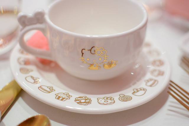Afternoon Tea at Hello Kitty Grand Cafe