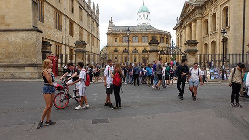 2019.02270 The Sheldonian from Hertford College, Oxford