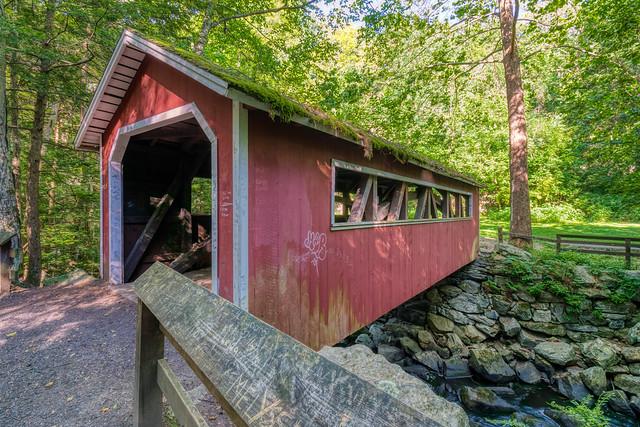 Southford Falls State Park Covered Bridge