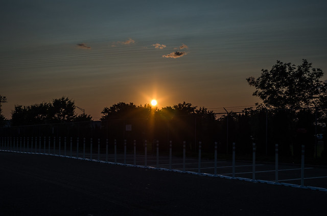 Sunset at JFK
