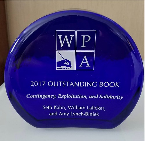 Contingency, Exploitation, and Solidarity Wins CWPA Outstanding Book Award