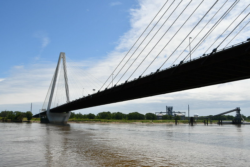 The I-70 Bridge over Mississippi River is now called the Stan Musial Veterans Memorial Bridge. It opened to traffic in 2014.