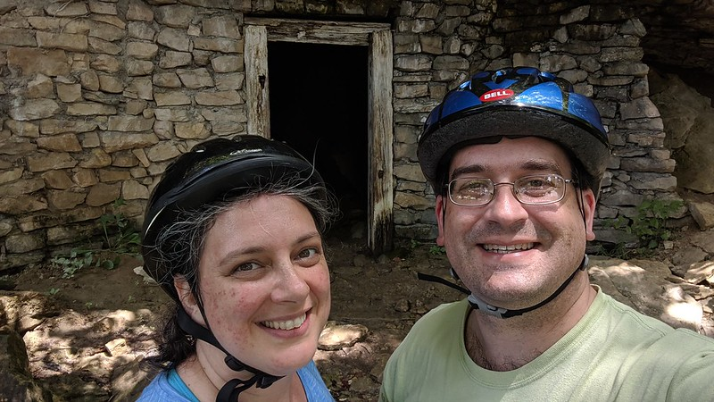 Old Railroad Storm Shelter, Rocheport, MO