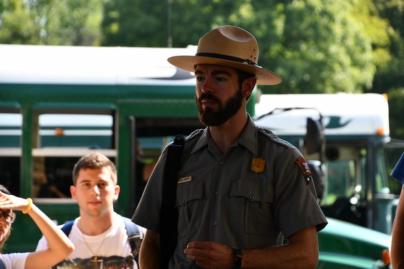Tour Guide Michael Knapp, Mammoth Cave National Park