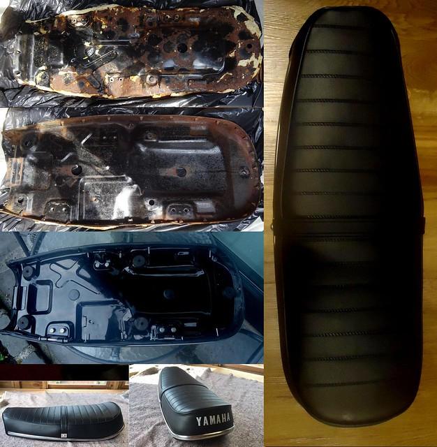 Yamaha CS5 Seat Before & After