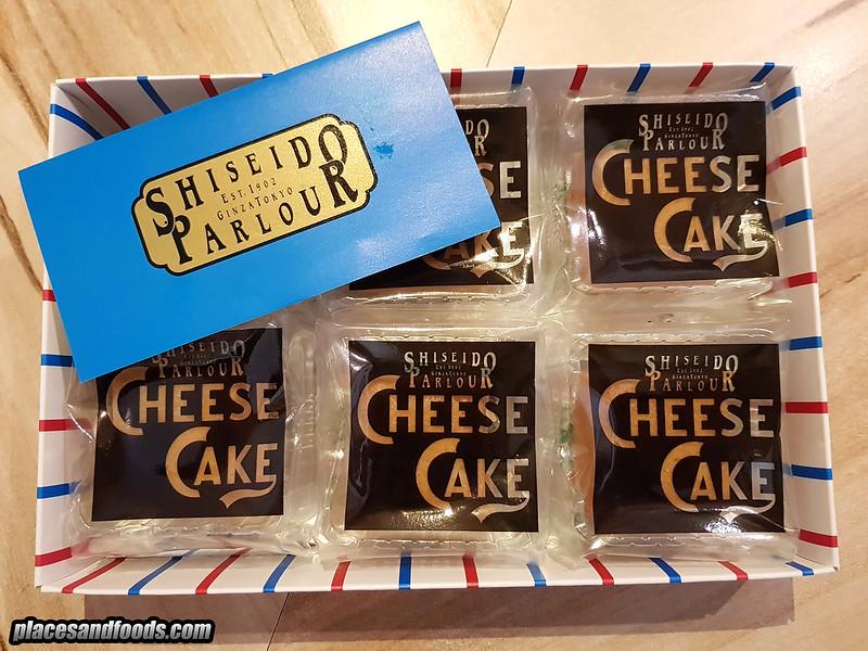 shiseido cheese parlour cheesecake 6 pcs