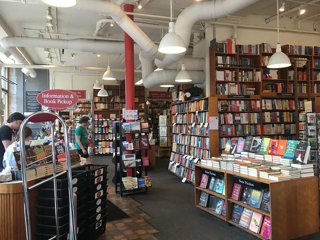 Harvard Book Store,  inside