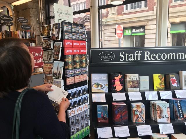 Harvard Book Store,  postcard