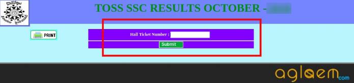 TOSS SSC Result October 2019