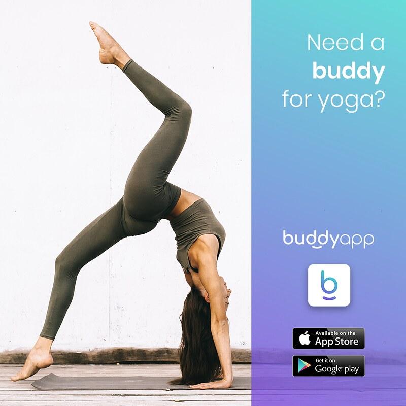 buddyapp post fb yoga