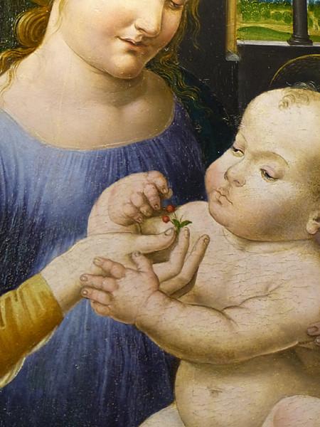 'enfant et les cerises