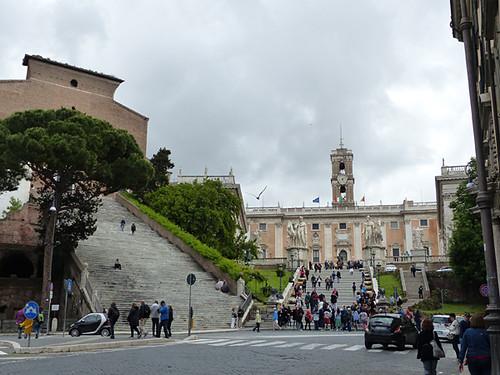 les escaliers du Capitole