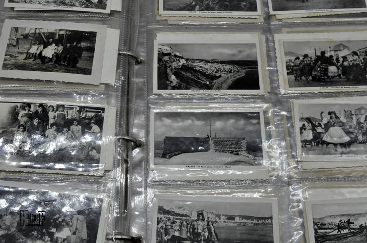 _DSC9163 Álbum em capa de argolas com 655 fotografias e mini-postais a preto e branco