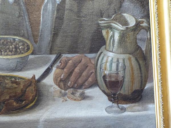 main du mangeur de haricots