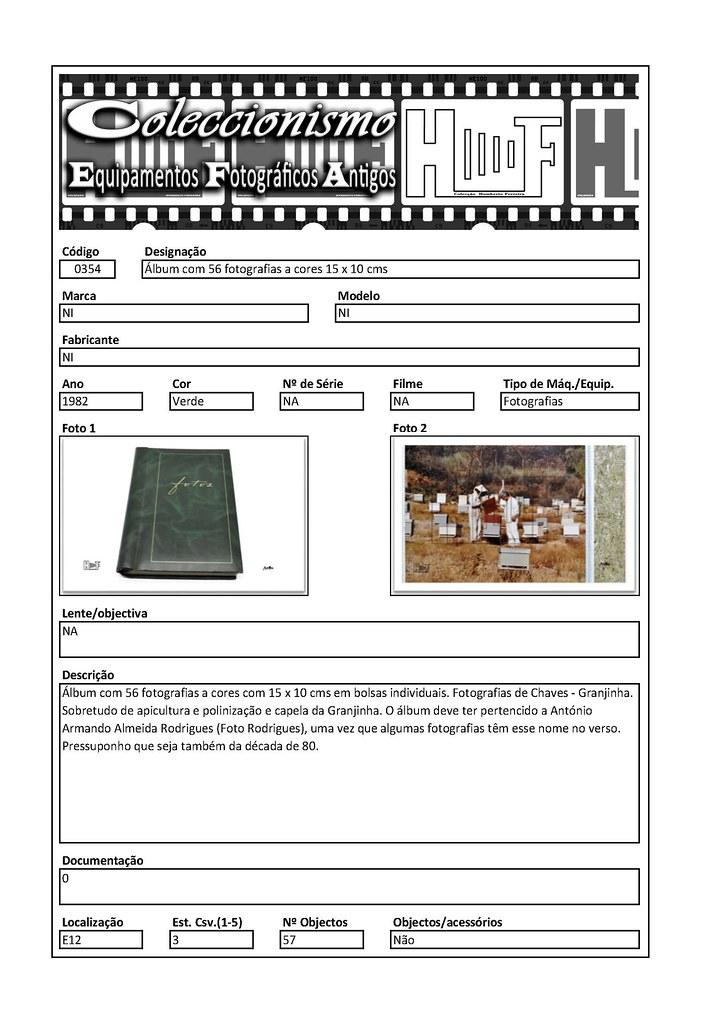 Inventariação da colecção_0354 Álbum com 56 fotografias a cores 15 x 10 cms