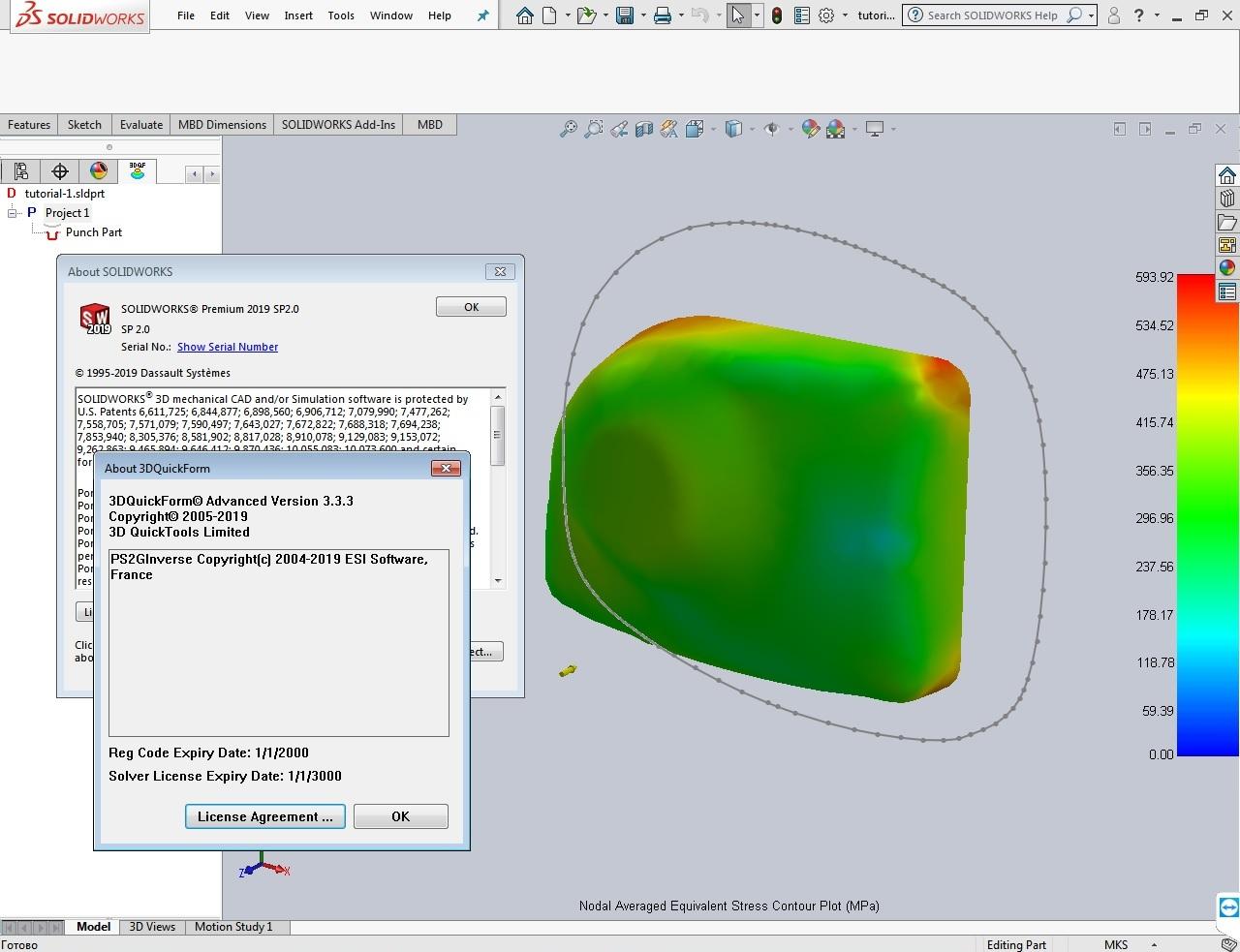 Download 3DQuickForm v3.3.3 for SolidWorks 2009-2019 x64 full license