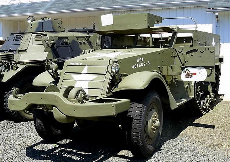 M2A1 Halftrack 1