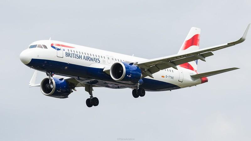 British Airways Airbus A320N