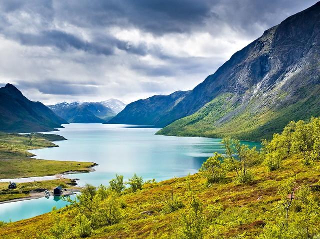 Jotunheimen Gjende Lake