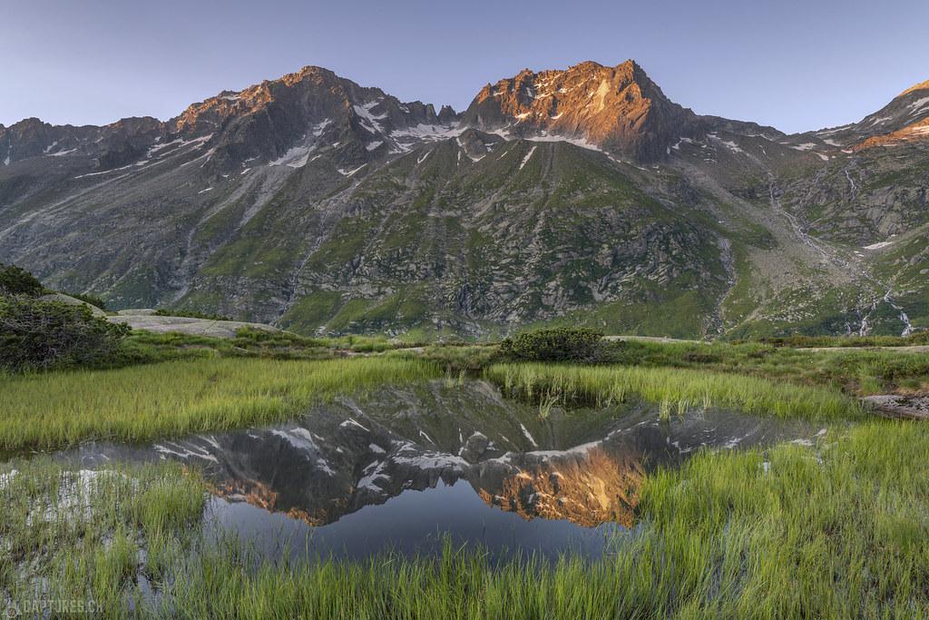 Peak reflection - Göscheneralp
