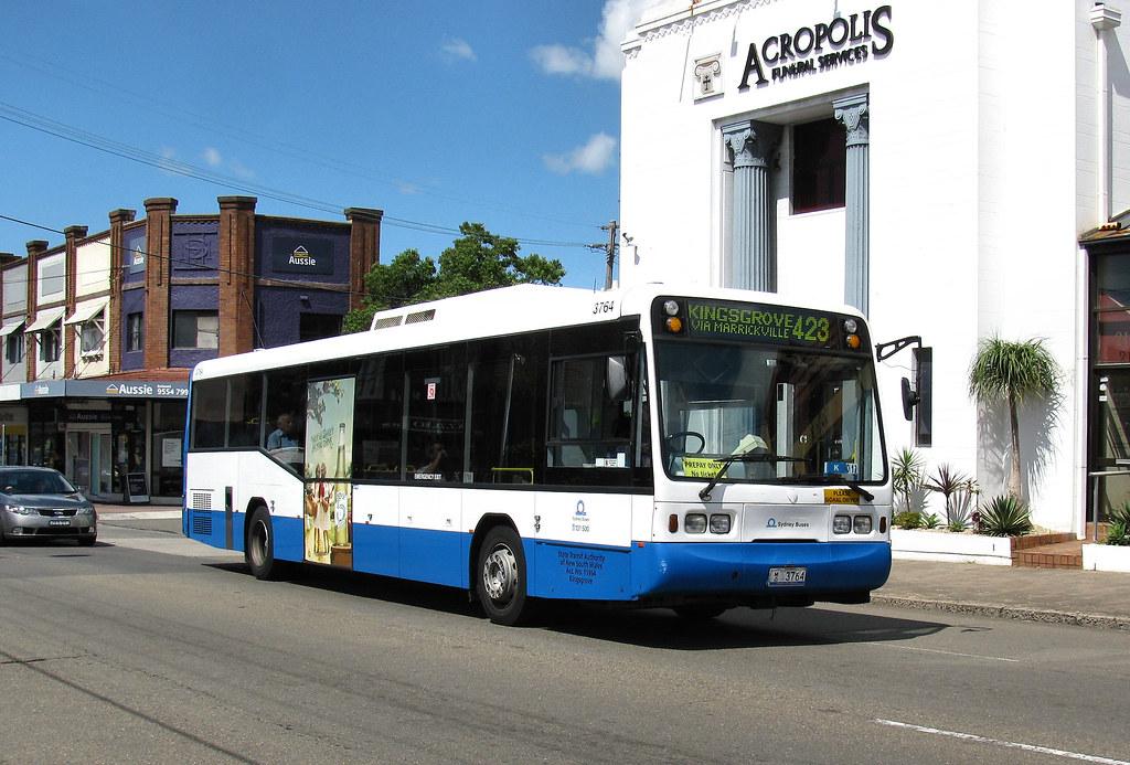 Bus 3764, Earlwood, Sydney, NSW.