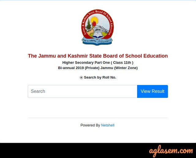 JKBOSE 11th Bi-Annual Result 2019 Jammu Division Winter Zone