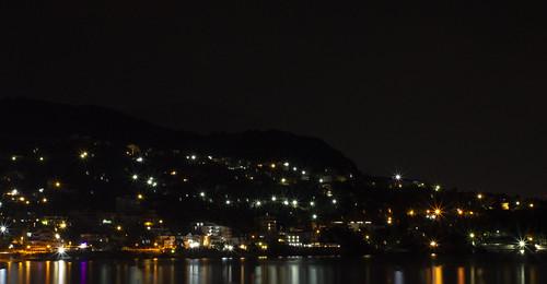 sutomore night view adriaticsea sea balcan