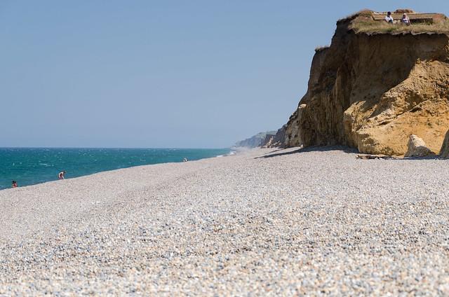 Distant mist - Weybourne beach