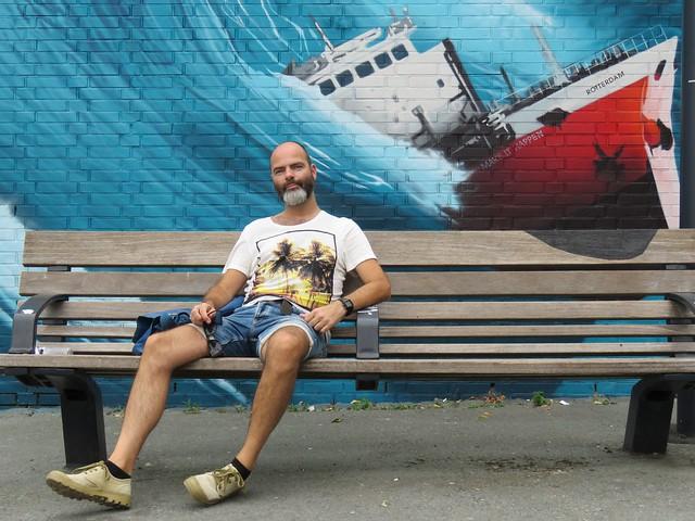 him in Rotterdam
