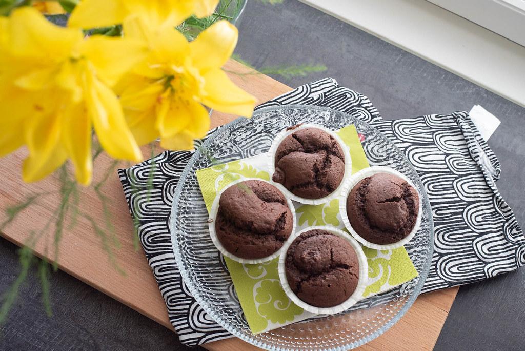 Helpot suklaamuffinssit