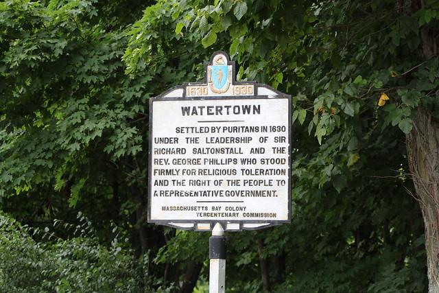 Massachusetts Bay Colony Tercentenary Commission Marker