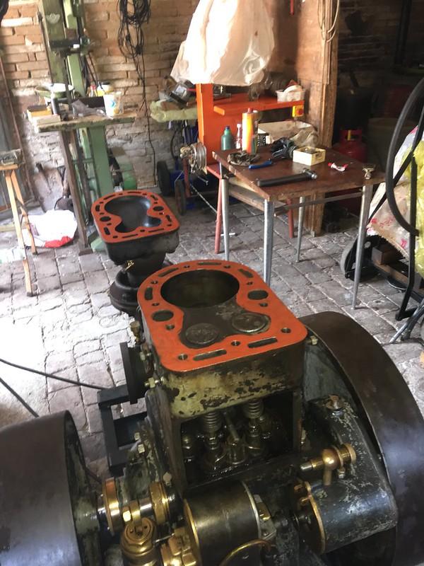 restauration - Restauration moteur ORESTE LUCIANI HP 6/8 48386698352_9f03bac74c_c