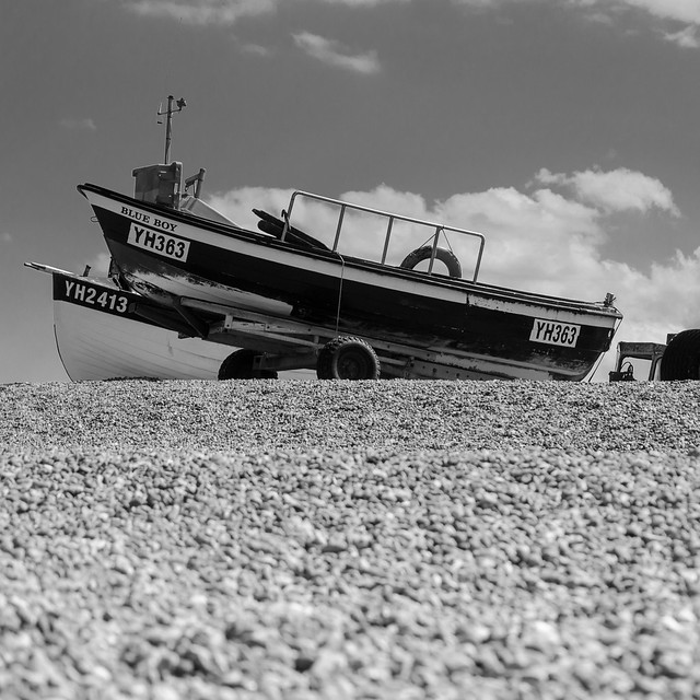Blue Boy - Weybourne Beach