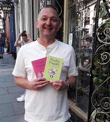 Thu, 07/25/2019 - 12:05 - Delighted to see Dan Rich of @JuicyDesignUK (now celebrating their 10th anniversary). Dan designed both Princess Pumpalot @PPumpalot books and what a great job he did! #Fart2019