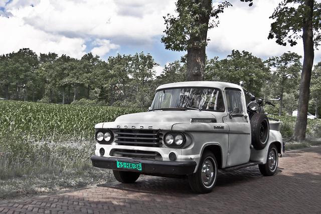 Dodge D100 Pick-Up Truck 1958 (2881)