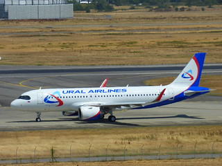 A320 NEO URAL AIRLINES / F-WWBV / AIB01BV / First Flight / 25/07/2019