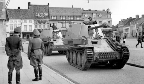 German SAU-Marder 3s  March 1944.