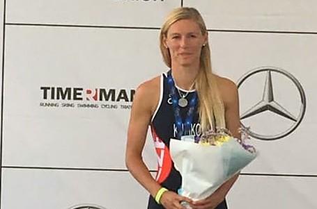 Petra Kuříková bere stříbro na mistrovství Evropy ve sprint triatlonu