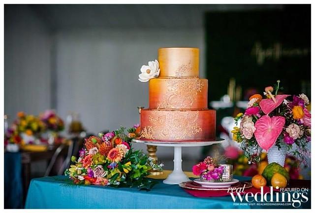 Cake by Something Sweet Bakery