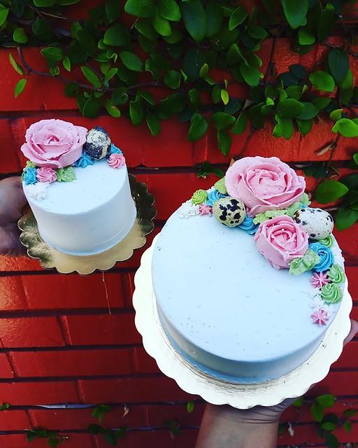 Cake by Pushkin's Bakery