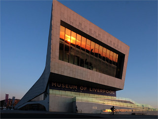 Museum of Liverpool sunset