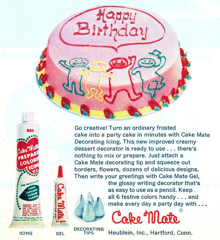 Cake Mate 1966