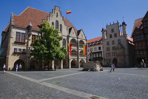 Marktplatz - Rathaus - Hildesheim