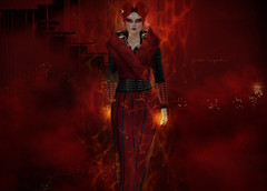 The red sorceress