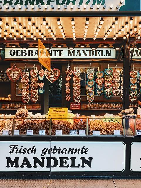 Mainfest во Франкфурте (2-5 августа). Освящение церкви и бой рыбаков.